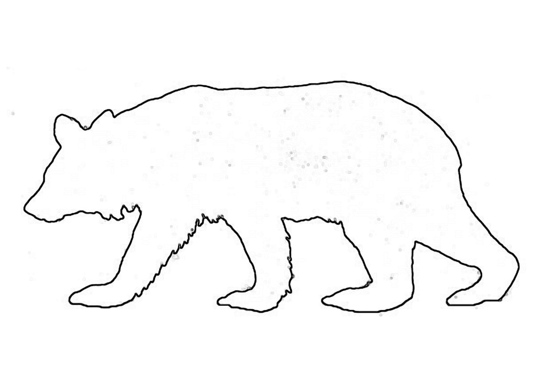 Walking Bear Craft Pattern