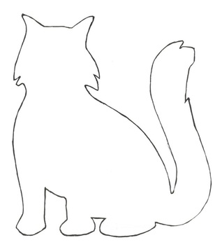 Cat craft pattern