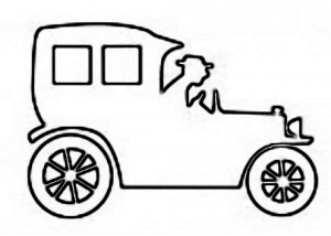 Basic Antique Car Craft Pattern