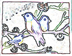 Bird Family Craft Pattern