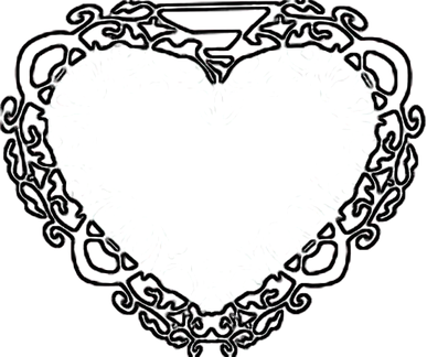 Heart Craft Pattern