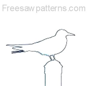seagull craft pattern
