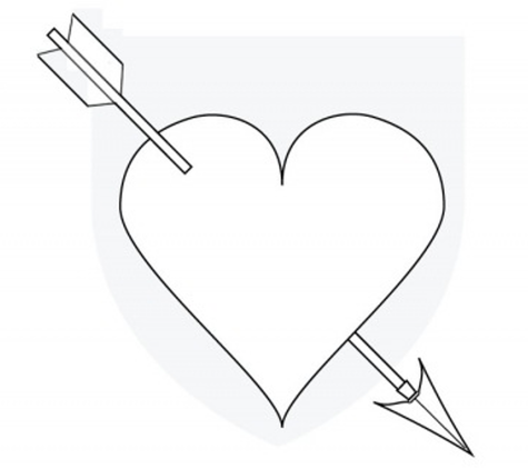 Heart & Arrow Craft Pattern